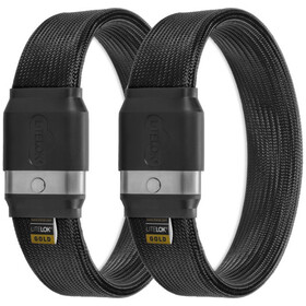 Litelok Twin Gold Slot, black